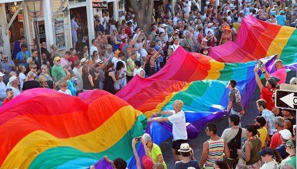 Foto referencial. El conductor del camión, que llevaba banderas del Orgullo Gay, fue sido detenido. (AFP / Florida Keys News Bureau / Carol TEDESCO)