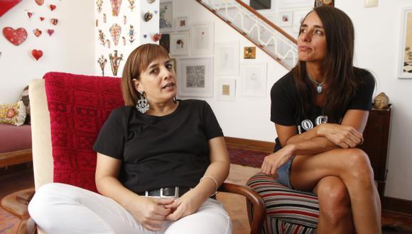 Patricia y María Luisa del Río, las autoras de 'Hey, soy gay'. (Luis Gonzales)