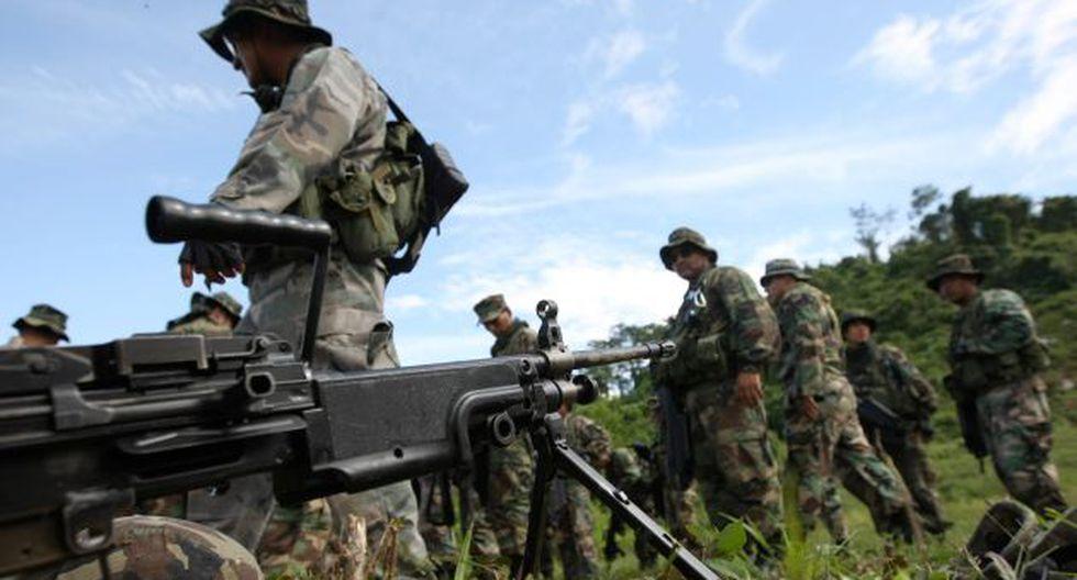 FF.AA. seguirán apoyando a la PNP, que se encarga del control interno. (USI)