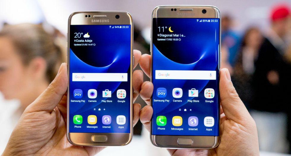 Samsung Galaxy S7 y S7 Edge: Su cámara delantera cuenta con una resolución sensor de 12 MP, una apertura de f/1.7 y se puede regular el ISO y balance en blancos. La cámara trasera tiene una resolución de 5MP y apertura f/1.7. (Samsung)