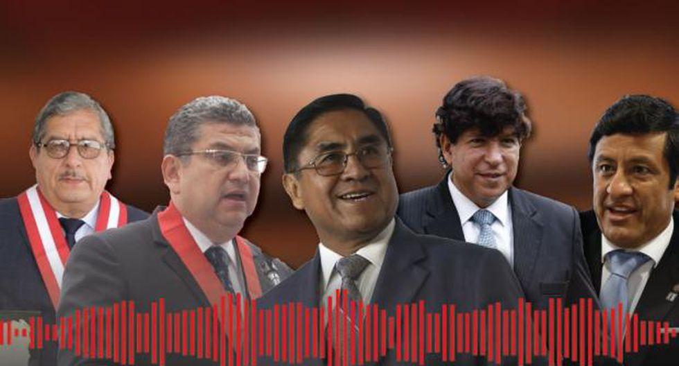 Los audios de la vergüenza destaparon una corrupción enraizada en el sistema de justicia. (Composición Perú21)