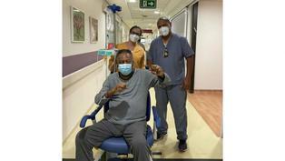 Pelé comenta que cada día está mejor tras su operación