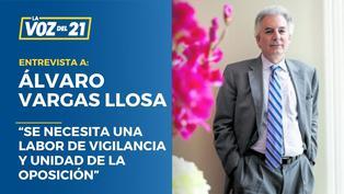 """Álvaro Vargas Llosa: """"Se necesita una labor de vigilancia y unidad de la oposición"""""""