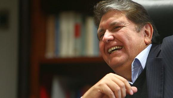 Alan García logró que se anule la investigación en su contra. (USI)