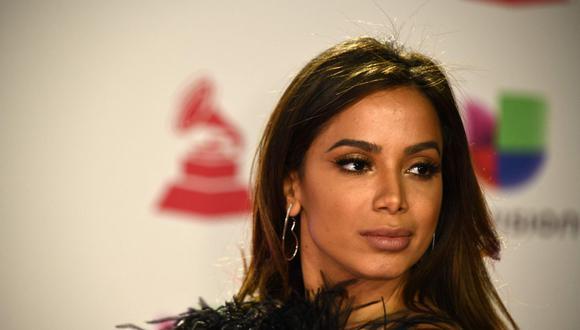 La cantante brasileña Anitta celebra su primera aparición en la lista de Billboard. (Foto: AFP/Bridget Bennett)