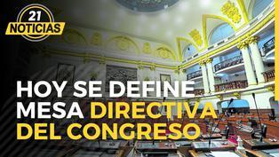 Se define Mesa Directiva del Congreso