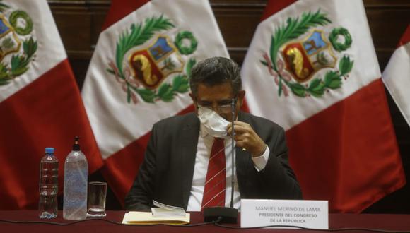 Congreso Martin Vizcarra Manuel Merino No Vamos A Pisar El Palito De Las Declaraciones Nerviosas Del Ejecutivo Politica Peru21