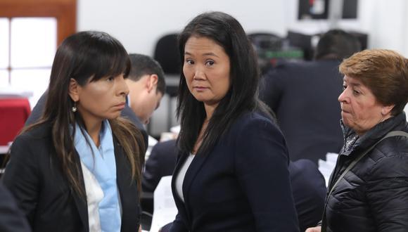 Poder Judicial admitió a trámite el recurso de apelación presentado por la abogada de Keiko Fujimori (GEC).