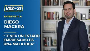 """Diego Macera: """"Tener un Estado empresario es una mala idea"""""""