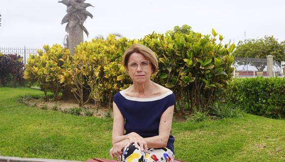 María Teresa Bomboí es vicepresidenta de la Fundación Pachacútec y científica.
