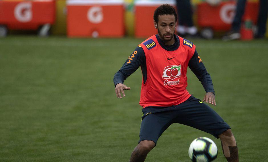 Neymar fue acusado por violación el 31 de mayo. (AFP)