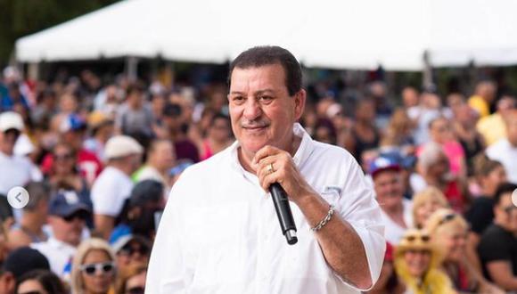 Fallece el salsero puertorriqueño Tito Rojas. (Foto: @titorojaselgallo)