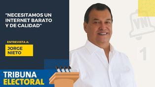 Jorge Nieto candidato al Congreso por Victoria Nacional