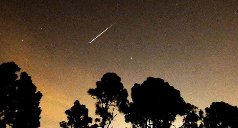 Lluvia de meteoritos podrá ser vista en todo el hemisferio sur. (Internet)