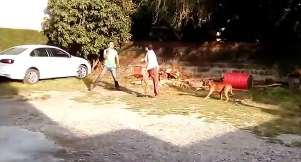 Facebook: Una mujer rocía con gasolina a su pareja y le prende fuego en México. (YouTube/Televisa)