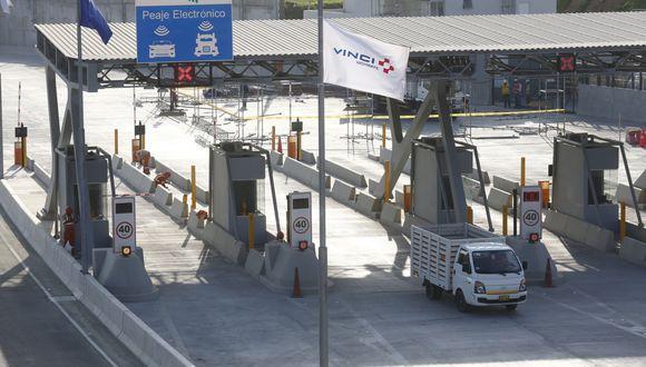 Vinci Highways propuso incluir la ejecución de más obras en contrato de concesión de Línea Amarilla, pero a cambio buscaba instalar nuevos peajes, aseveró Muñoz.(Foto: GEC)