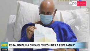 Buzón de la esperanza: pacientes covid-19 hospitalizados reciben cartas de familiares