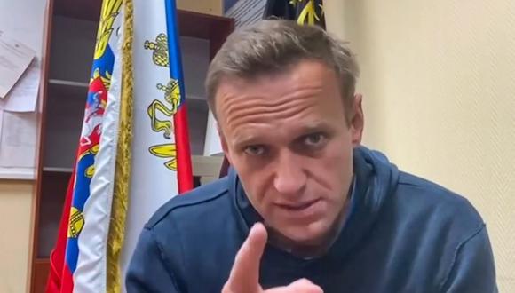 "Estados Unidos condena ""duras tácticas"" de Rusia contra manifestantes de apoyo a Navalni. EFE"