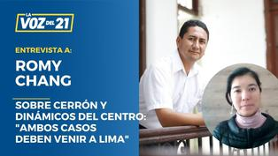"Romy Chang sobre Cerrón: ""Que los casos se unifiquen en Lima"""