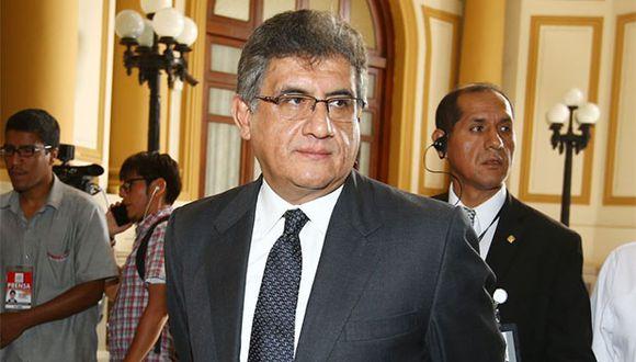 Juan Sheput precisó que su informe no tiene relación con la denuncia contra Pedro Chávarry por el deslacrado de oficinas. (Foto: Andina)