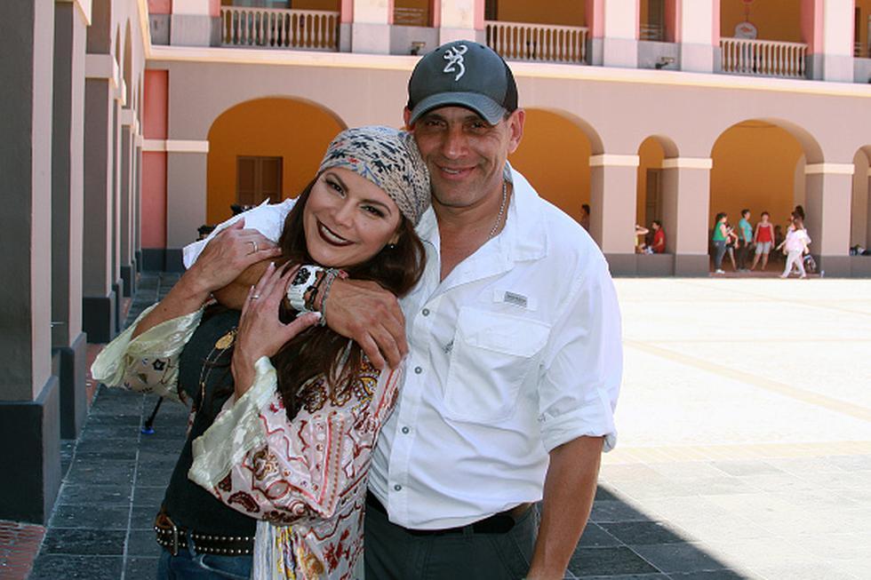 Olga Tañón celebra hoy 16 años de matrimonio con su productor y manager, Billy Denizard. (Getty)