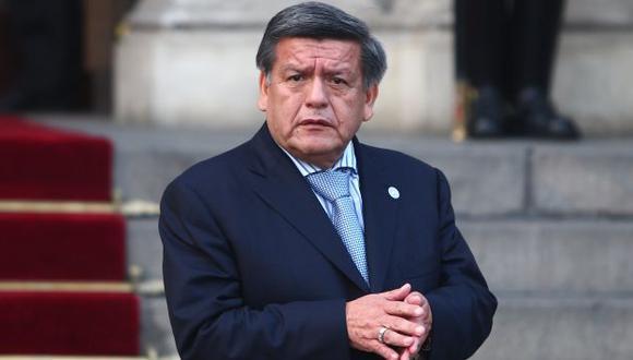 Líder de APP se defendió por denuncia interpuesta por militante del Apra. (Rafael Cornejo)