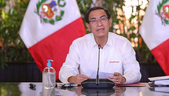 Martín Vizcarra mantiene en 60% su nivel de aprobación ciudadana, según sondeo realizado por Datum. (Foto: GEC)