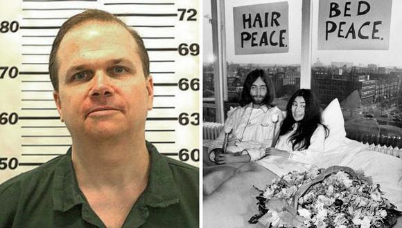"""Mark David Chapman calificó el asesinato a John Lennon como """"despreciable"""" y afirma que no lo merecía. (Fotos: Archivo / AFP)."""