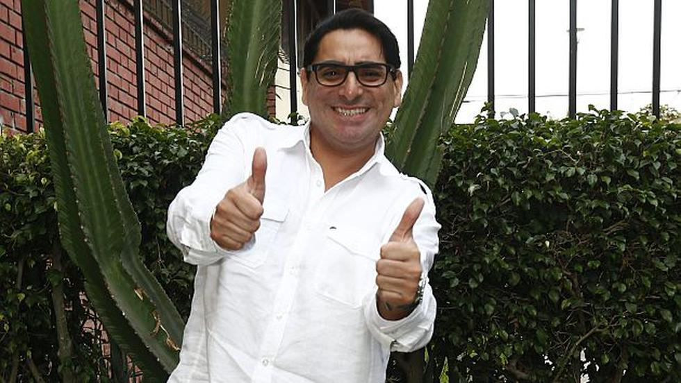 Carlos Álvarez. Humorista del programa Habla bien, América TV. (Ernesto Quilcate)