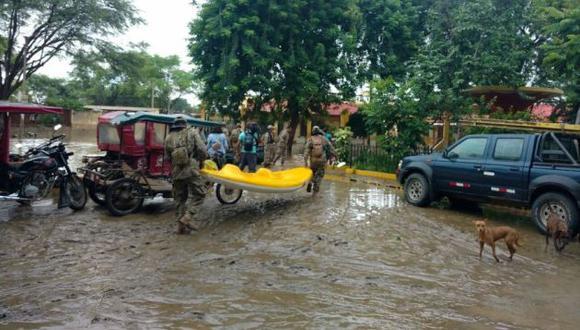 Personal del Ejército ya está en la zona.  (Foto: Ralph Zapata / El Comercio)