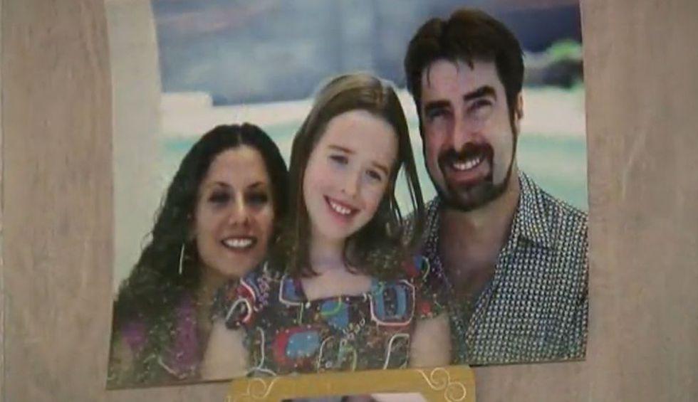 Robert Letscher y su familia, que se ha convertido en su apoyo incondicional. (Foto: Captura CBS42)