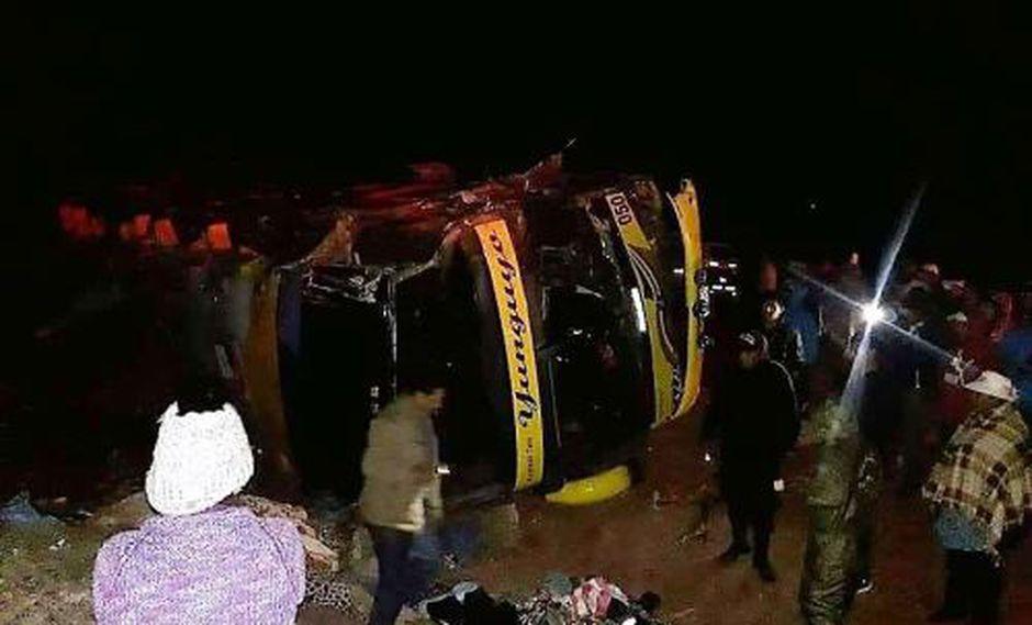 En el accidente también fallecieron 15 personas. (Foto: Andina)