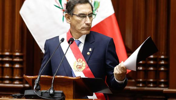 Martín Vizcarra responde hoy ante el Congreso por pedido de vacancia.