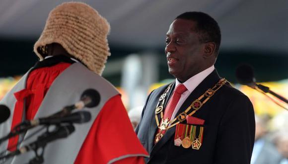 """La """"gracia"""" de Mugabe. (EFE)"""