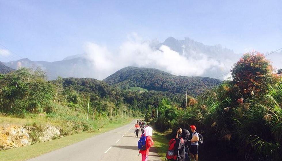 Terremoto en Malasia: Unas 190 personas pasarán la noche atrapadas en monte Kinabalu. (AP)