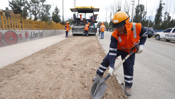 Gremio sostuvo que se están descuidando las obras cerca de terminar en el marco del PNIC. (Foto: GEC)