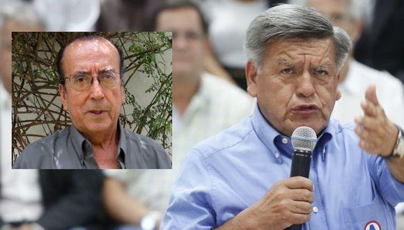 César Acuña no aceptó haberse apropiado de publicación ilegalmente. (Perú21/Difusión)