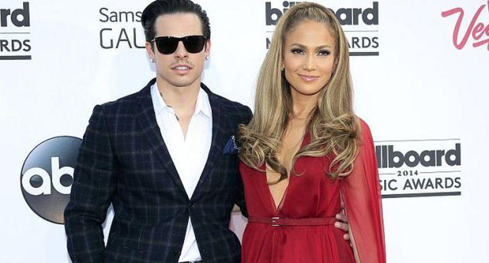 J.Lo terminó la relación con el bailarín. (AFP)