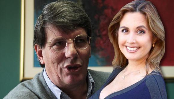 Jessica Tapia respalda a Rafael Rey. (Composición)