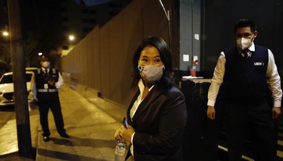 """Keiko Fujimori aseguró que su entrevista del viernes 19 de marzo fue una """"oportunidad"""". (Foto: GEC)"""