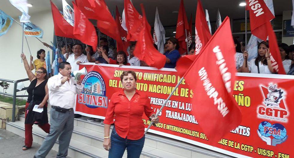 Director general del INSN-Breña, Jorge Jáuregui, afirmó que la huelga de trabajadores no afecta la atención médica a pacientes. (Foto: Facebook)