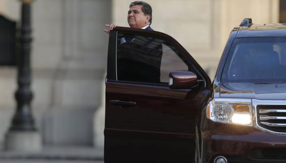 PUNTO DÉBIL. El caso 'narcoindultos' complicaría a Alan García. (Luis Gonzales)
