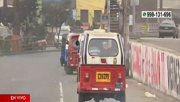 Delincuentes roban mototaxi a mujer a la que amputaron sus extremidades. (Captura)