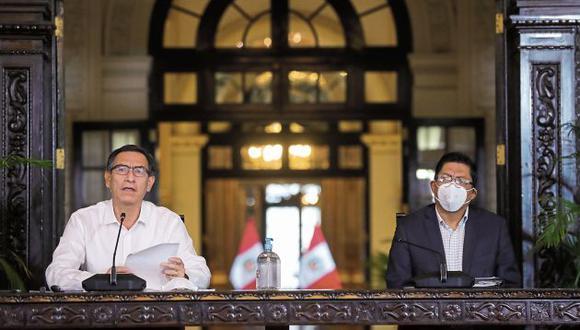 Tanto el mandatario como el premier han deslindado con Richard Swing. (GEC)