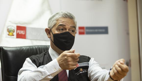 El ministro del Interior dijo que no se puede responsabilizar a toda la PNP por la mala actuación de uno de sus miembros. (Foto: GEC)