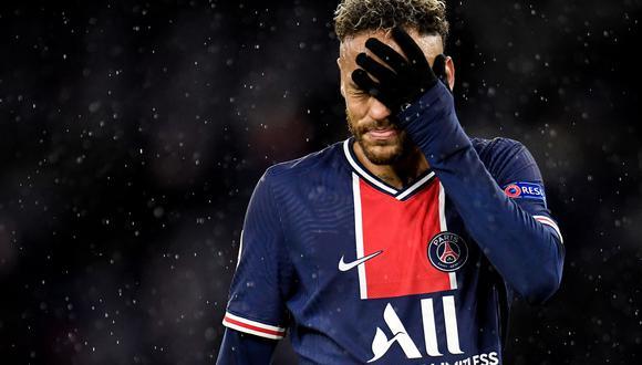 Neymar se perderá la final de la Copa de Francia. (Foto: EFE)