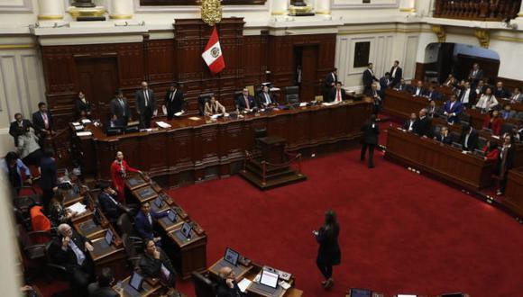 Pleno del Congreso  admite la moción de vacancia contra Martín Vizcarra. (GEC)