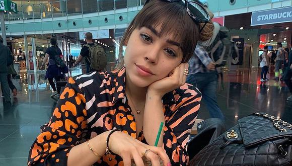 Danna Paola ha asegurado que a lo largo de su vida no ha tenido suerte en el amor y que su carrera como actriz y cantante ha sido la razón de esto (Foto: Instagram)