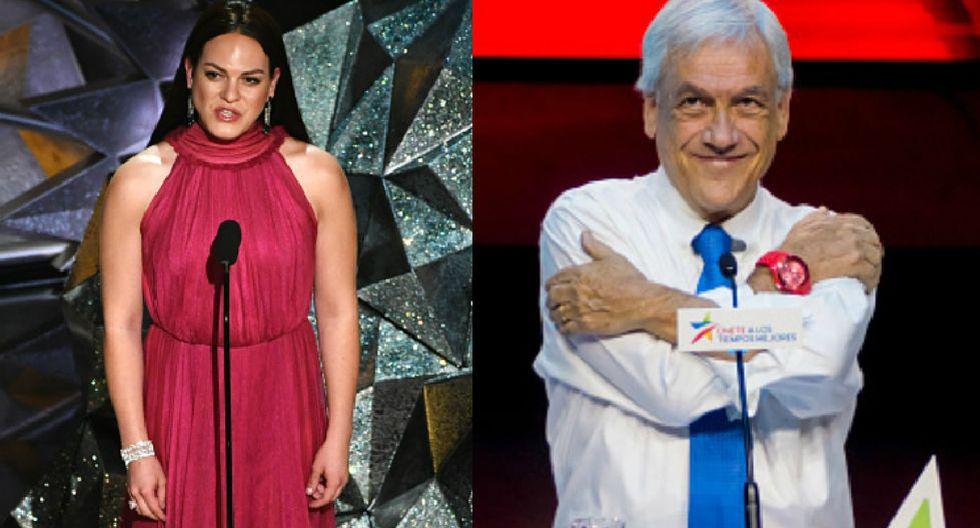 El propio presidente Sebastián Piñera felicitó a actores, director y producción de 'Mujer fantástica', filme chileno que se llevó el Oscar. (Getty)
