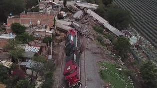 Descarrilamiento de tren deja un muerto y tres heridos en Jalisco, México